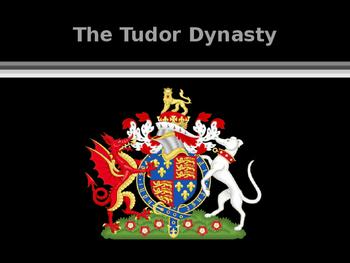 British History - The Tudor Dynasty