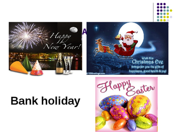 British Holidays and Special Occasions