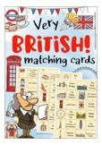 British Icons - Flash Cards English, England, Great Britain UK, Kate Hadfield
