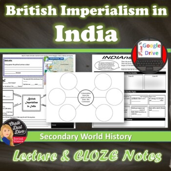 British Imperialism in India Lecture Power Point (World History)