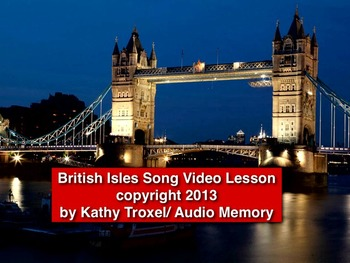 British Isles Song mp4 Video from Geography Songs CD by Ka