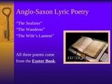 British Literature: Anglo-Saxon Lyric Poetry