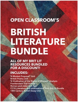 British Literature Bundle