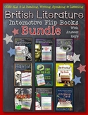 BRITISH LITERATURE READING LITERATURE GUIDE FLIP BOOKS BUNDLE
