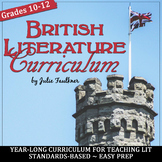 British Literature Curriculum, Year-Long Curriculum, BUNDLE+, Distance Learning