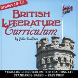 British Literature Curriculum, Year-Long Curriculum, BUNDLE+