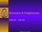 British Literature: Introduction to the Restoration & Enlightenment