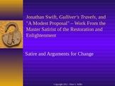 "British Literature: Jonathan Swift, Gulliver's Travels, & ""A Modest Proposal"""