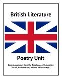 British Literature Poetry Unit