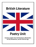 British Literature Poetry Unit