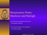 British Literature: Renaissance Poets - Marlowe and Raleigh Notes and Poems