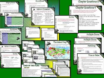 BRITISH LITERATURE TASK CARDS COLLECTION