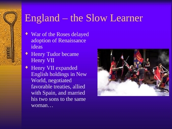 British Literature: The English Renaissance - Historical and Literary Background