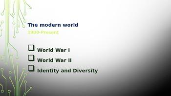 British Literature- The Modern World