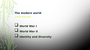 British Literature- The Modern World