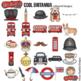 "British / London Clip Art: ""Cool Britannia"""