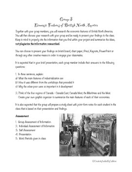 British North America Group Assignment
