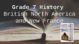 British North America & New France lessons