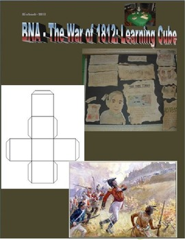 British North America: War of 1812 Learning Cube