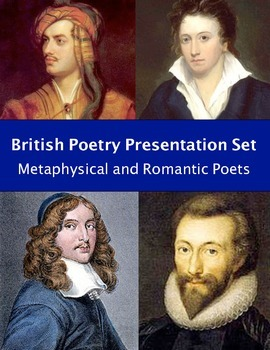 British Poetry Presentation Set