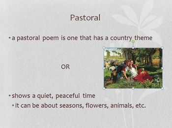 British Poetry Unit – PowerPoint