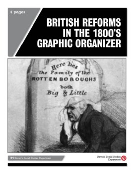 British Reforms in the 1800's Graphic Organizer