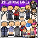 British Royal Family Clip Art Bundle {Educlips Clipart}