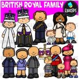 British Royal Family Clip Art Bundle {Educlips Clipart}