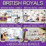 British Royal Family - EFL worksheets