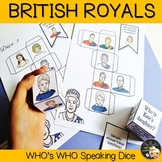 British Royal Family - Conversation Cubes