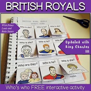 British Royal Family - Freebie