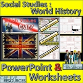 World Studies Civics & Citizenship - British History PowerPoint Lesson Quiz
