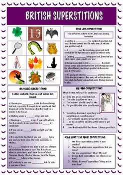 British Superstitions