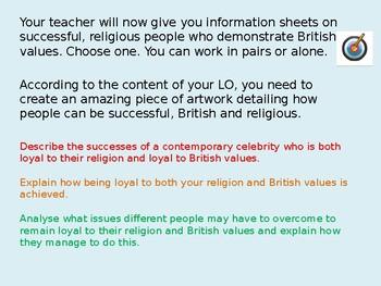 British Values: Diversity: Religion