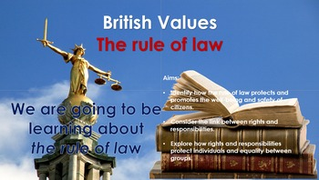 British Values: The Rule of Law