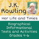 British Writers BUNDLE J.K. Rowling, Roald Dahl, Charles Dickens - Texts & More