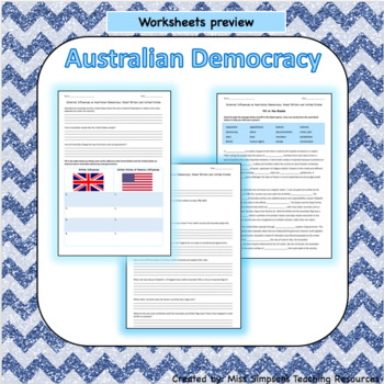 British and US Influence on Australian Democracy
