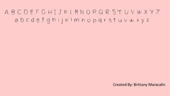 Brittany Maracalin's Fonts: Sweeter Than Pie Font