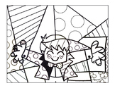 Britto 3-Page Color Packet