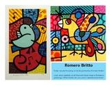 Britto Birds Display/Info Sheets
