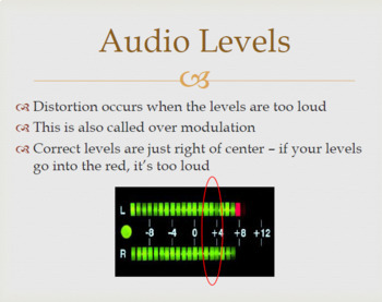 Broadcast Terms and Definitions - PowerPoint Only
