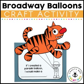 Broadway Balloons Cut and Paste