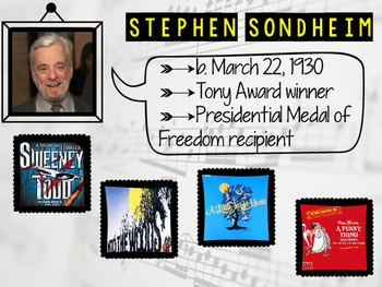 Broadway Composers Bulletin Board Printables