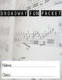 Broadway Fun Packet