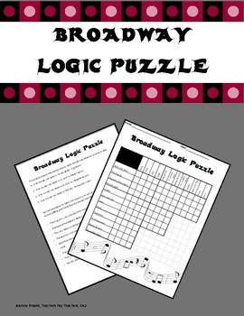 Broadway Logic Puzzle