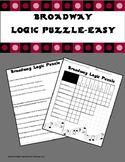 Broadway Logic Puzzle-Easy