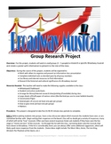 Broadway Musical Group Research Project