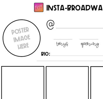 Broadway Musical Instagram Research Project