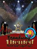Broadway Red Carpet Themed Pocket Chart Subject Schedule Cards & Calendar