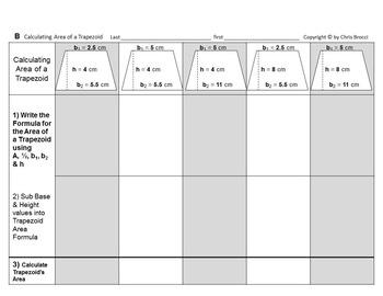 Brocci Bundles: Area BIG Bundle (18 Lessons, 59 Worksheets, 593 Problems)